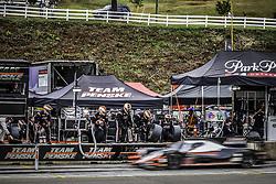 October 7, 2017 - Petit Le Mans, USA - 6 TEAM PENSKE (USA) ORECA 07 GIBSON LMP2 HELIO CASTRONEVES (BRA) SIMON PAGENAUD (FRA) JUAN PABLO MONTOYA  (Credit Image: © Panoramic via ZUMA Press)