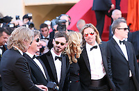 The cast and director of  Killing Them Softly at the gala screening at the 65th Cannes Film Festival France. Tuesday 22nd May 2012 in Cannes Film Festival, France.