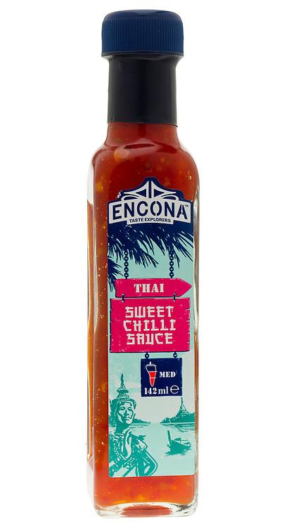 Bottle of Encona Sweet Chilli Sauce - March 2012