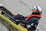 Caversham, Great Britain, Cox, Caroline O'CONNER, GB Rowing media day at the Redgrave Pinsent Rowing Lake. GB Rowing Training centre. Wed. 20.04.2008  [Mandatory Credit. Peter Spurrier/Intersport Images] Rowing course: GB Rowing Training Complex, Redgrave Pinsent Lake, Caversham, Reading
