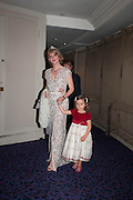 catharina hillenbrand; annabel saponar, The Royal Caledonian Ball 2013. The Great Room, Grosvenor House. Park lane. London. 3 May 2013.