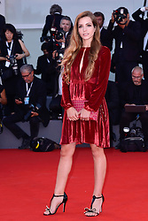 Aurora Ruffino attending the Roma Premiere as part of the 75th Venice International Film Festival (Mostra) in Venice, Italy on August 30, 2018. Photo by Aurore Marechal/ABACAPRESS.COM