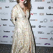 Dominique Frazer representing nominee SPACE attend The Music Producers Guild Awards at Grosvenor House, Park Lane, on 27th Febryary 2020, London, UK.