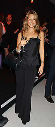Singer RACHEL STEVENS at a party hosted by Jo Malone - Pomegranate Noir, held at The Vinyl Factory, 45 Foubert's Place, London W1 on 15th September 2005.<br />