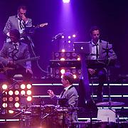 NLD/Hilversum/20120916 - 4de live uitzending AVRO Strictly Come Dancing 2012, de band