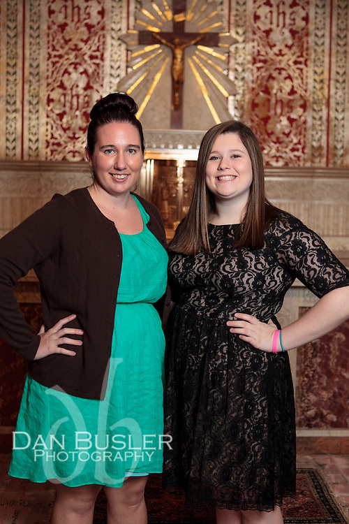 The Confirmation Celebration at St Ann Parish - Neponset in Dorchester MA on October 28, 2012