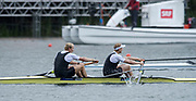 Lucerne, SWITZERLAND,  2016 FISA WCII, Men's Pair, NZL M2-, Bow. Eric MURREY and Hamish BOND, Finals day. Lake Rotsee Lake Rotsee, Sunday, 29/05/2016,<br /> [Mandatory Credit; Peter SPURRIER/Intersport-images]