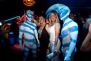 Patrizia d'Asburgo Lorena, Grey Goose character and cocktails. The Elton John Aids Foundation Winter Ball. off Nine Elms Lane. London SW8. 30 October 2010. -DO NOT ARCHIVE-© Copyright Photograph by Dafydd Jones. 248 Clapham Rd. London SW9 0PZ. Tel 0207 820 0771. www.dafjones.com.