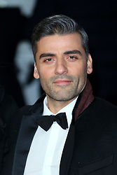 """at the Star Wars """"The Last Jedi"""" European premiere at the Royal Albert Hall in London, UK. 12 Dec 2017 Pictured: Oscar Isaac. Photo credit: MEGA TheMegaAgency.com +1 888 505 6342"""