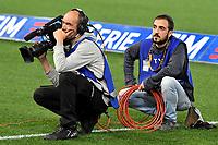 Cameraman Tv Camera <br /> Roma 18-04-2018 Stadio Olimpico Football Calcio Serie A 2017/2018 AS Roma - Genoa Foto Andrea Staccioli / Insidefoto