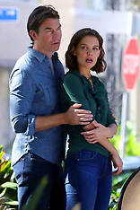 Katie Holmes shares a loving embrace with co-star Jerry O'Connell  - 7 Nov 2018