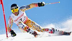 20.03.2011, Pista Silvano Beltrametti, Lenzerheide, SUI, FIS Ski Worldcup, Finale, Lenzerheide, NATIONEN TEAM EVENT, im Bild Michael Janyk (CAN) // during Nations Team Event, at Pista Silvano Beltrametti, in Lenzerheide, Switzerland, 20/03/2011, EXPA Pictures © 2011, PhotoCredit: EXPA/ J. Feichter