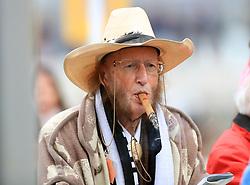 Horse racing pundit John McCririck