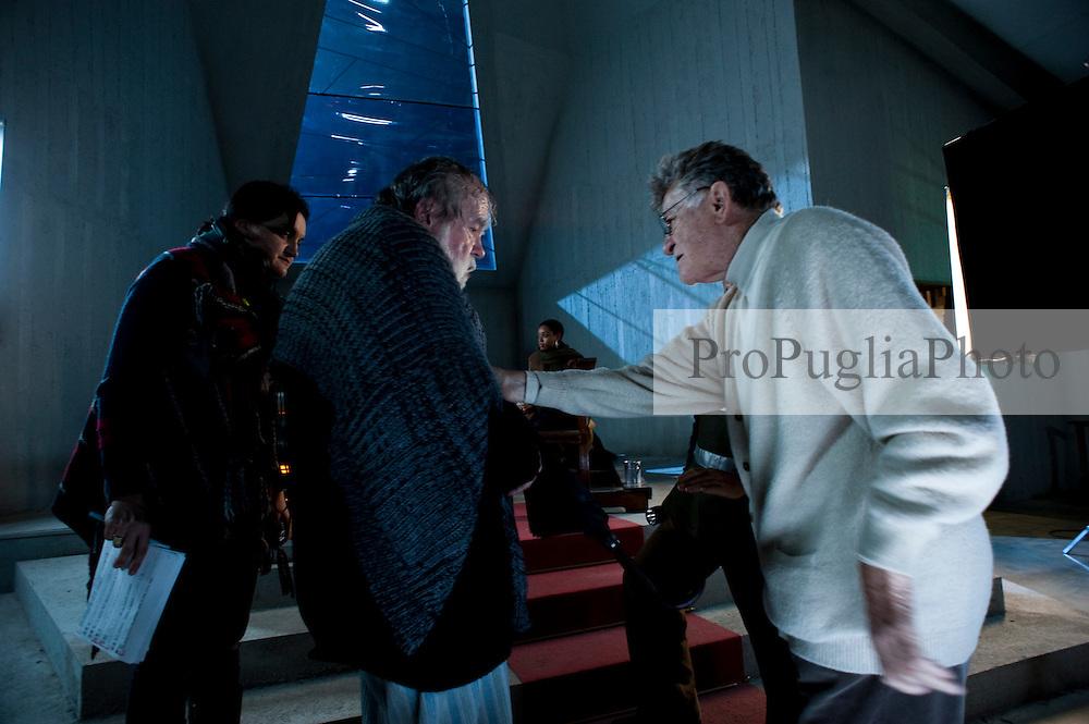 IL VILLAGGIO DI CARTONE.REGIA ERMANNO OLMI.BARI 01 DICEMBRE 2010.