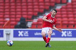 Harry Arter of Nottingham Forest passes infield - Mandatory by-line: Nick Browning/JMP - 29/11/2020 - FOOTBALL - The City Ground - Nottingham, England - Nottingham Forest v Swansea City - Sky Bet Championship