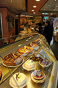 France, Paris, interior of a Patisserie