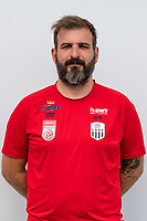 Download von www.picturedesk.com am 16.08.2019 (13:58). <br /> PASCHING, AUSTRIA - JULY 16: Assistant coach Andreas Wieland of LASK during the team photo shooting - LASK at TGW Arena on July 16, 2019 in Pasching, Austria.190716_SEPA_19_069 - 20190716_PD12427