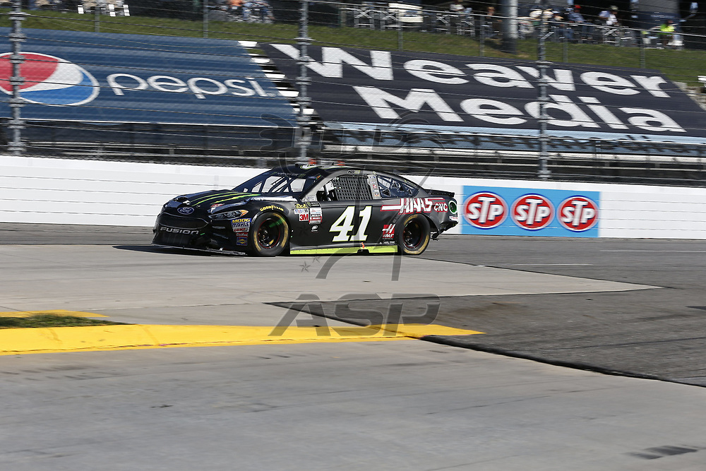 April 02, 2017 - Martinsville, Virginia , USA: The Monster Energy NASCAR Cup Series teams take to the track for the STP 500 at Martinsville Speedway in Martinsville, Virginia .