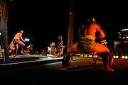 Polynesian dancers, Oahu, Hawaii