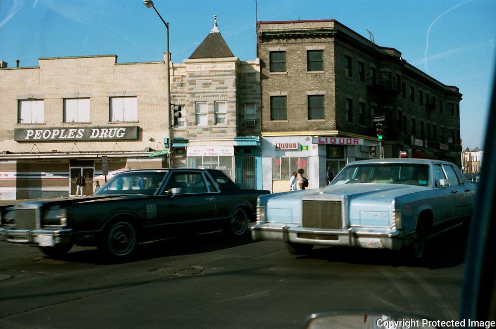 N. Captitol Street and Florida Ave, NW Washington DC, 1988