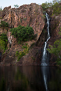 Wangi Falls at Litchfield National Park in Australia's Northern Territory. Photo taken at around sunset.