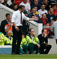 Photo: Steve Bond/Richard Lane Photography. <br />Nottingham Forest v Yeovil Town. Coca-Cola Football League One. 03/05/2008. Colin Calderwood on the touchline