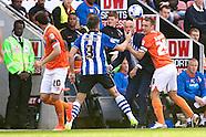 Wigan Athletic v Blackpool 230814