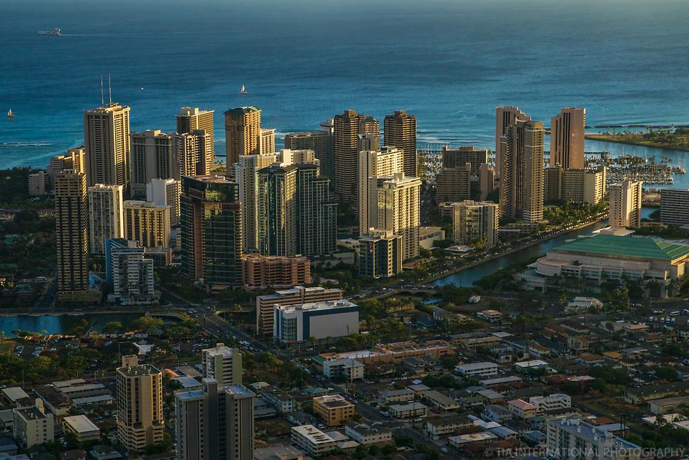 Waikiki District & Ala Wai Canal