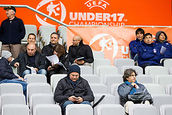 VIP tribune during the UEFA European Under-17 Championship Semifinal match between Germany and Poland on May 13, 2012 in SRC Stozice, Ljubljana, Slovenia. Germany defeated Poland 1-0 and qualified to finals. (Photo by Vid Ponikvar / Sportida.com)