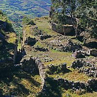 Stone walls of Chachapoyan fort at Cuelap pre-date the Inca.