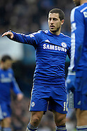Eden Hazard of Chelsea looks on. Barclays Premier league match, Chelsea v Southampton at Stamford Bridge in London on Sunday 15th March 2015.<br /> pic by John Patrick Fletcher, Andrew Orchard sports photography.