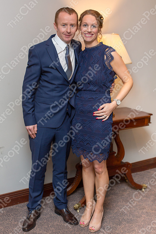 Johnny and Louise Howard at the Bodyke GAA Junior A Champions 2017 Dinner Dance at Woodstock Hotel, Ennis