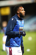 Reiss Greenidge  during the EFL Sky Bet League 2 match between Scunthorpe United and Bolton Wanderers at the Sands Venue Stadium, Scunthorpe, England on 24 November 2020.