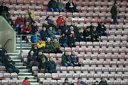 General view of the travelling fans - Mandatory by-line: Jack Phillips/JMP - 11/01/2020 - FOOTBALL - DW Stadium - Wigan, England - Wigan Athletic v Bristol City - English Football League Championship