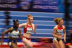 March 2, 2018 - Birmingham, Gangwon, United Kingdom - Mathilde Kramer ofDenmark at 60m, heat 1, at World indoor Athletics Championship 2018, Birmingham, Englandon March 2, 2018. (Credit Image: © Ulrik Pedersen/NurPhoto via ZUMA Press)