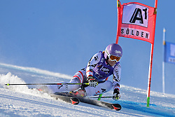 26.10.2013, Rettembach Ferner, Soelden, AUT, FIS Ski Alpin, FIS Weltcup, Ski Alpin, 1. Durchgang, im Bild Michaela Kirchgasser from Austria // Michaela Kirchgasser from Austria during 1st run of ladies Giant Slalom of the FIS Ski Alpine Worldcup opening at the Rettenbachferner in Soelden, Austria on 2012/10/26 Rettembach Ferner in Soelden, Austria on 2013/10/26. EXPA Pictures © 2013, PhotoCredit: EXPA/ Mitchell Gunn<br /> <br /> *****ATTENTION - OUT of GBR*****