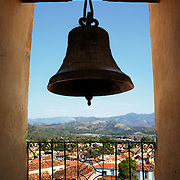 A view of Trinidad, Cuba, from the bell tower of the Museo Nacional de la Lucha Contra Bandidos