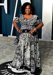 Shonda Rhimes attending the Vanity Fair Oscar Party held at the Wallis Annenberg Center for the Performing Arts in Beverly Hills, Los Angeles, California, USA.