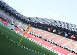 11.08.2010, Wörthersee Stadion, Klagenfurt, AUT, Testspiel, Oesterreich (AUT) vs Schweiz (SUI), im Bild Feature Stadion, EXPA Pictures © 2010, PhotoCredit: EXPA/ D. Scharinger / SPORTIDA PHOTO AGENCY