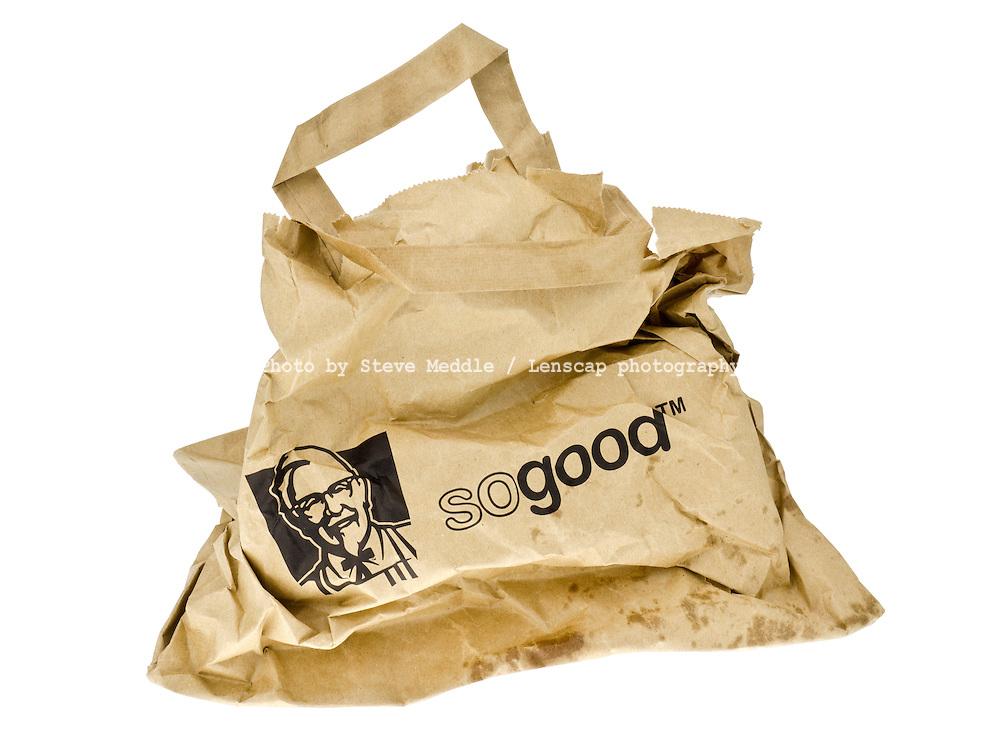 KFC Takeaway Paper Bag - Mar 2013.