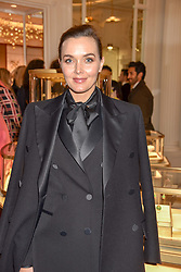 Victoria Pendleton at the reopening of the Cartier Boutique, New Bond Street, London, England. 31 January 2019. <br /> <br /> ***For fees please contact us prior to publication***