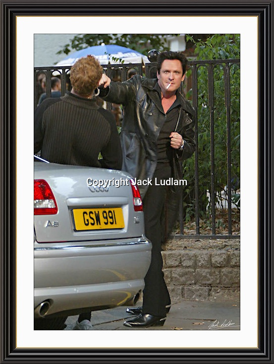 Michael Madsen  Holborn London 7/9/2003 A3 Museum-quality Archival signed Framed Print<br />
