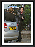 Michael Madsen  Holborn London 7/9/2003 A3 Museum-quality Archival signed Framed Print £350<br />