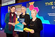 27/01/2014 SCCUL Enterprise Award<br /> Social Enterprise <br /> One To Watch <br /> Coole Music & Arts Ltd. <br /> <br /> Founder, Katharina Baker and Administrator  Fiona Buckley were present with their prize by Mary Redmond(centre).<br />  <br /> <br /> Coole Music and Arts is dedicated to joyful creative and supportive music making.<br /> They work in the community providing young people and adults the opportunity to learn, enjoy and create classical music through different instruments, choirs, orchestras, chamber music, workshop, public performances and recordings.<br /> <br /> Photo:Andrew Downes