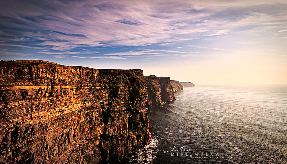 Cliffs of Moher Co.Clare Ireland. Landscape photography of Mike Mulcaire from various countries around the world.