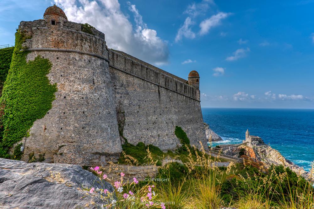 Doria Castle overlooks Chiesa di San Pietro