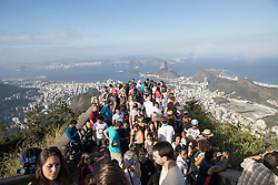31.07.2016, Berg Corcovado Rio de Janeiro, BRA, Rio 2016, Olympische Sommerspiele, Vorberichte, im Bild Copacabana und Zuckerhut // Copacabana and Sugar Loaf Mountain +during preparation for the Rio 2016 Olympic Summer Games at the Corcovado Mountain in Rio de Janeiro, Brazil on 2016/07/31. EXPA Pictures © 2016, PhotoCredit: EXPA/ Johann Groder