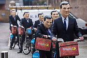 Enough Food IF campaigners head to Westminster on Boris bikes to call on Osborne to keep promises to the world's poorest.