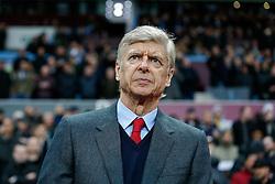 Arsenal Manager Arsene Wenger  looks on - Mandatory byline: Rogan Thomson/JMP - 13/12/2015 - FOOTBALL - Villa Park Stadium - Birmingham, England - Aston Villa v Arsenal - Barclays Premier League.