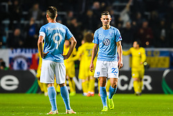 February 14, 2019 - MalmÅ, Sweden - 190214 Marcus Antonsson of MalmÅ¡ FF looks dejected after 0-1 during the Europa league match between MalmÅ¡ FF and Chelsea on February 14, 2019 in MalmÅ¡..Photo: Petter Arvidson / BILDBYRN / kod PA / 92225 (Credit Image: © Petter Arvidson/Bildbyran via ZUMA Press)